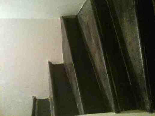 Vitrification d'un escalier en bois en chêne - 1