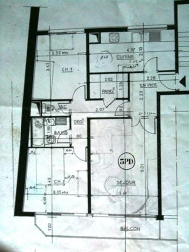 r novation appartement f3 de 60m2 paris 10 75010 paris d tail et devis travaux. Black Bedroom Furniture Sets. Home Design Ideas