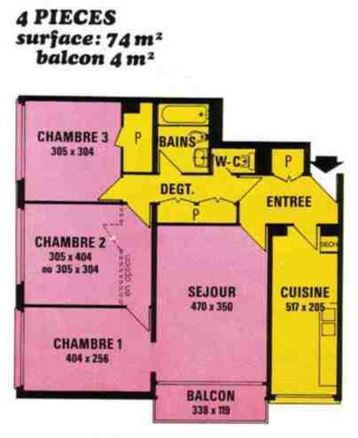 Appartement à rénover intégralement - 1