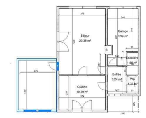 R novation d 39 une maison de 1960 lectricit transformation d 39 un ce - Transformation garage en logement ...