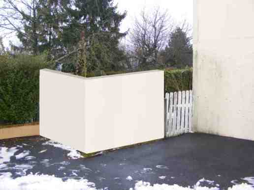 Ravalement Pavillon + construction mur de jardin - 1