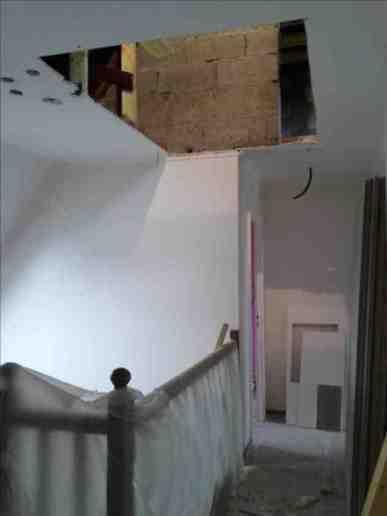 Escalier double quart tournant - 1