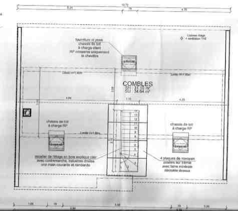 am nagement combles sur charpente fermette 45 am nageable pargny filain 02000 aisne d tail. Black Bedroom Furniture Sets. Home Design Ideas