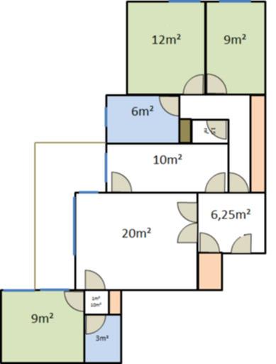 Refaire électricité appartement f4 86m² de 1979 - 1