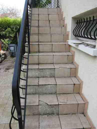 Pose Carrelage Exterieur Pour Escaliers Chelles 77500   Carrelage Exterieur  Pour Escalier .