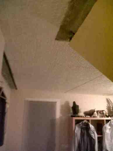Pose plafond sous hourdis polystyrène - 1