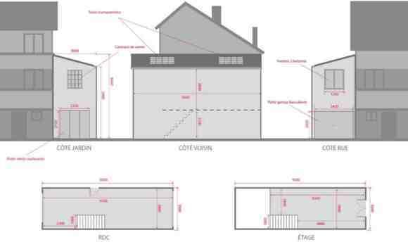 Démolition d'un garage avec toit amianté - 1