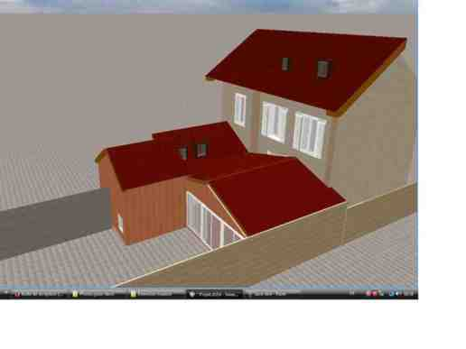 Gros oeuvre extension 40m2 pontoise 95300 val d 39 oise for Extension 40m2