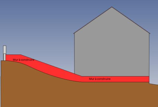 Murs de cloture en parpaing - 1