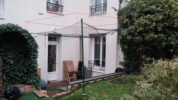 extension appartemment en rdc sur jardin issy les moulineaux 92130 hauts de seine d tail. Black Bedroom Furniture Sets. Home Design Ideas