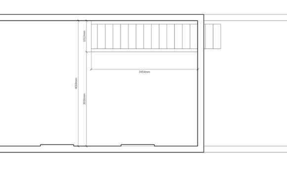 abattre un mur porteur en machefer cr ation de 2 tr mies. Black Bedroom Furniture Sets. Home Design Ideas