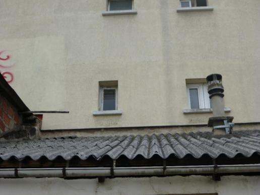 Dépose d'une toiture en fibro-ciment de 50m² - 1
