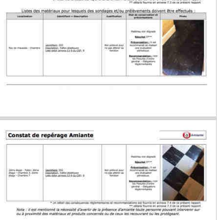Retirer dalle vinyle colle amiantée - 1