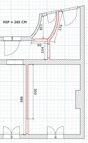 Desctruction cloison + remontage porte - 1