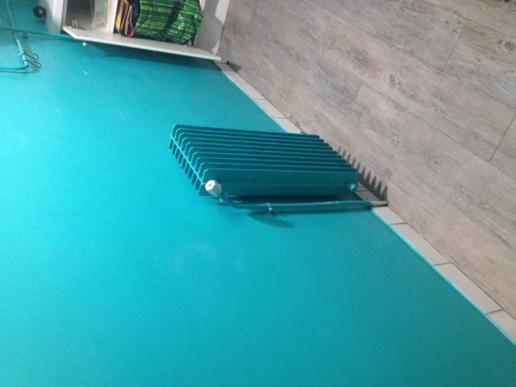 Depose d un radiateur a eau - 1