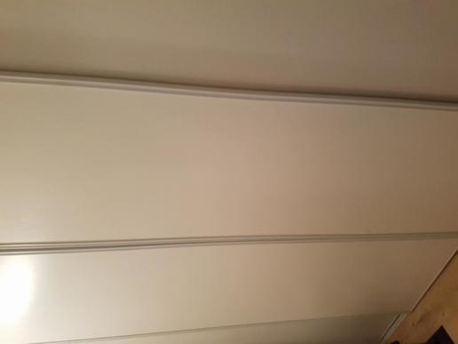 Pose de portes de placard - 1
