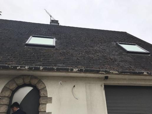 toiture fibro ciment amiante perfect nettoyage de la toiture en fibrociment dans le loiret et. Black Bedroom Furniture Sets. Home Design Ideas
