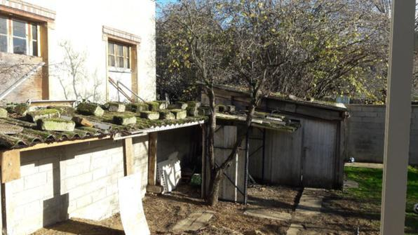 Détruire et débarrasser cabanon avec toiture fibrociment - 1