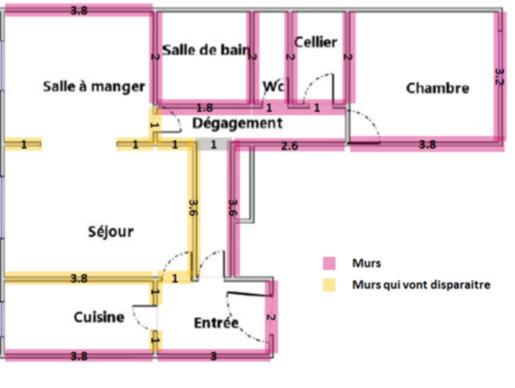 Électricité - modernisation complète dans un appartement de 63m2 - 1