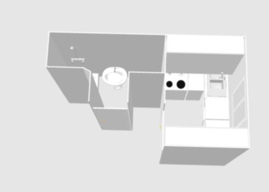 Réhabilitation d'une cuisine et d'une salle d'eau d'un studio - 1